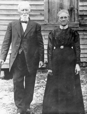 John Wesley Jollett and Sarah Elizabeth Smith Jollett Jollett Hollow Page County, Virginia https://jollettetc.blogspot.com
