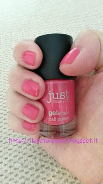 Just Cosmetics Gelicious nail polish  Col. 050 Be a princess