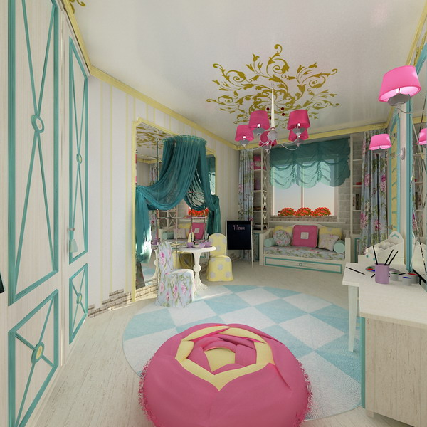 Bright Kids Room: Bright Interiors Children's Rooms And Cool Designs For