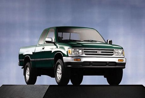 Famous Car Manual: 1996 Toyota T100 Service Factory Workshop Manual Download