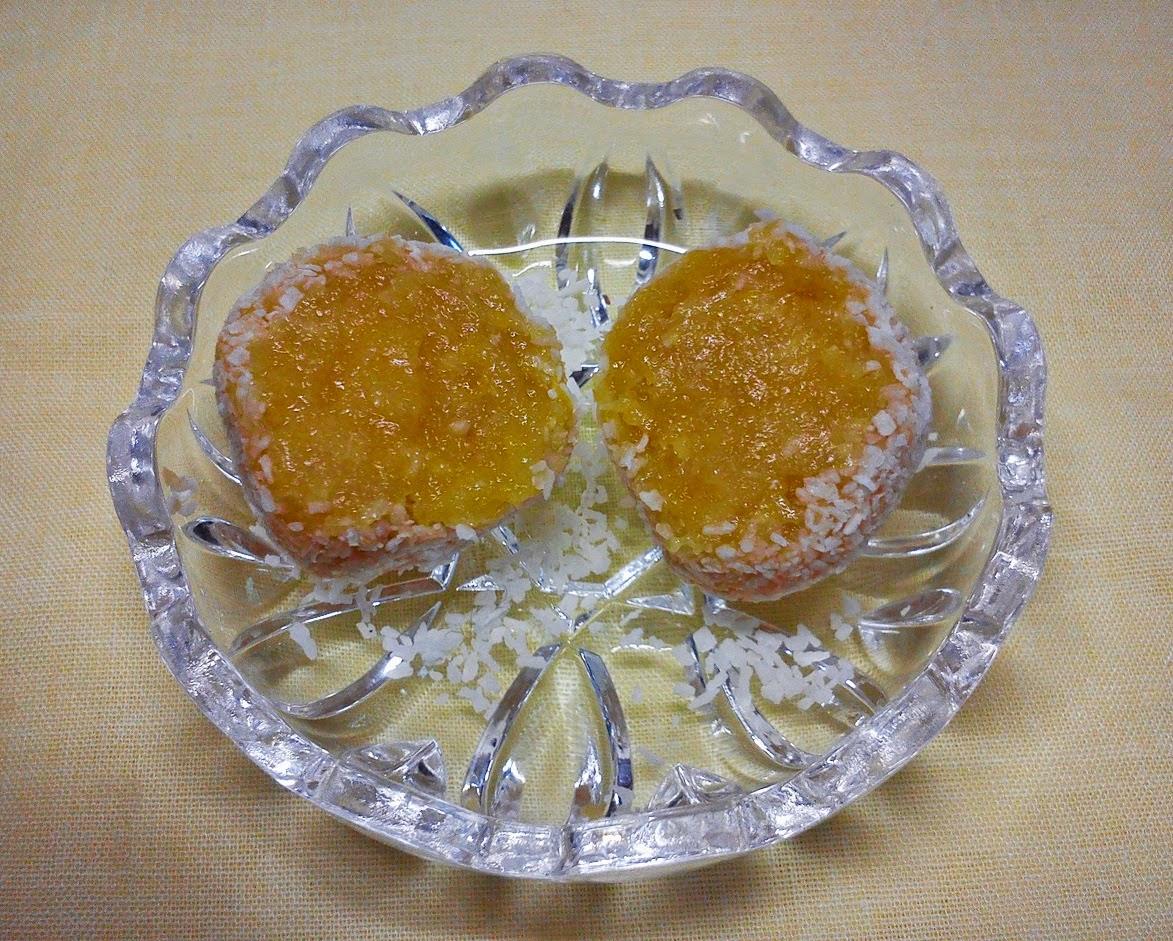 Mimos de Coco y Albaricoque