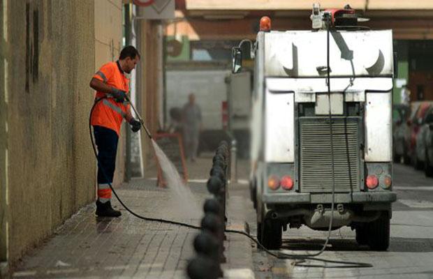 Desatascos Sevilla: Baldeo de Calles
