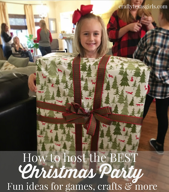 Christmas Party Icebreaker Games For Adults: Crafty Texas Girls: Christmas Party Ideas For Kids (Games
