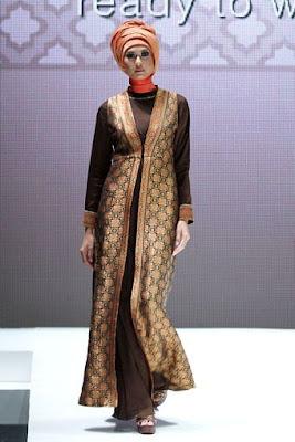 Model Baju Muslim Batik 3