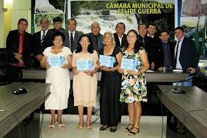 """Câmara Municipal de Felipe Guerra realiza sessão solene para entrega de comenda de """"Mulher Cidadã Felipense"""""""