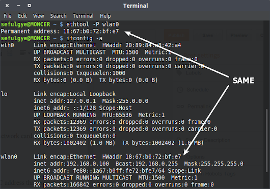 LINUX SOFTWARE - BEST LINUX EQUIVALENT SOFTWARE: How to Check / Find MAC Address on Linux Mint