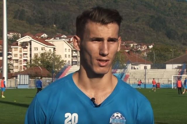 Faton Xhemaili, the only Albanian playing in Serbia to be transferred to Kukësi