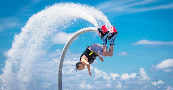 If you lot are a fan of the Repsol Honda MotoGP Beaches in Bali; Flyboard Tanjung Benoa Bali