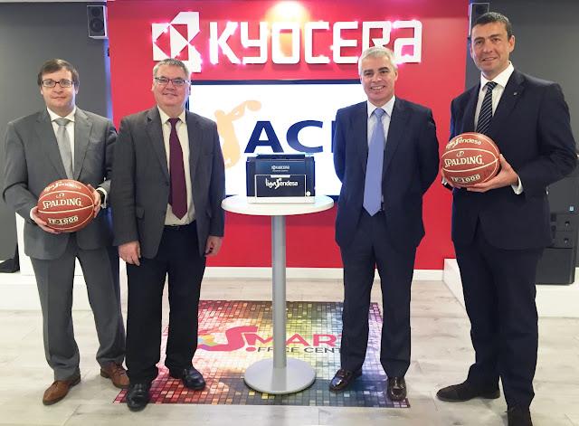 Vive el basket con eduardo burgos acuerdo entre la acb liga endesa y kyocera para los - Oficinas de endesa en barcelona ...