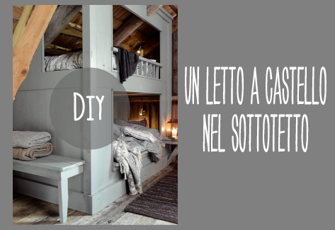 Costruire Un Letto A Castello Fai Da Te : Costruire un letto a castello dettagli home decor