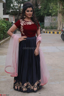 Actress Aathmika in lovely Maraoon Choli ¬  Exclusive Celebrities galleries 001.jpg
