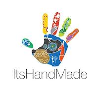 ItsHandMade-Logo Partecipazione pocket in rosso con brillantiniColore Rosso Partecipazioni Pocket