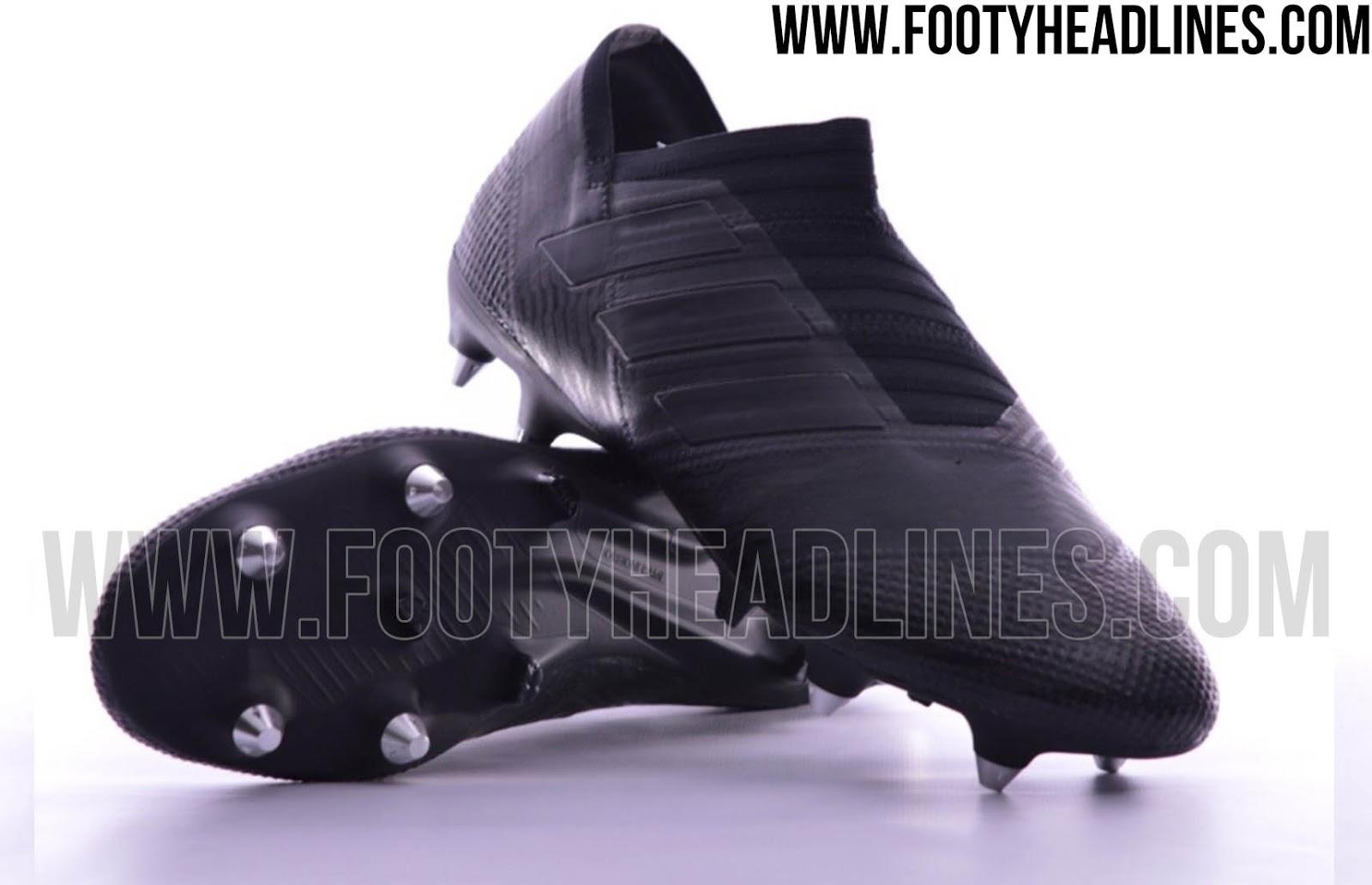 Blackout Adidas Nemeziz 17+ 360Agility Boots Leaked ...
