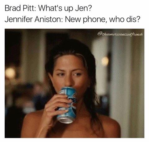 Jennifer Aniston: New phone, who dis?