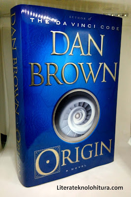 dan brown origin front cover