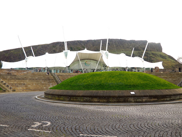 Dynamic Earth, Royal Mile, Edinburgh