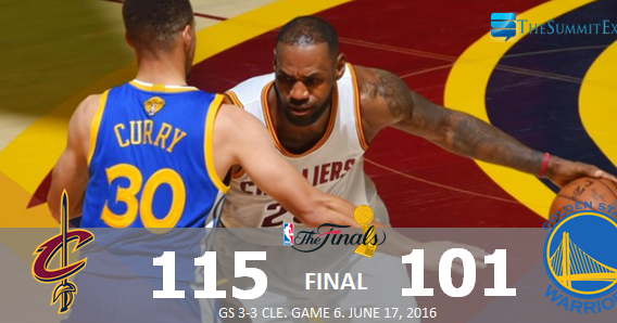 Cavs dump Warriors to force Game 7, makes NBA Finals history | The Summit Express
