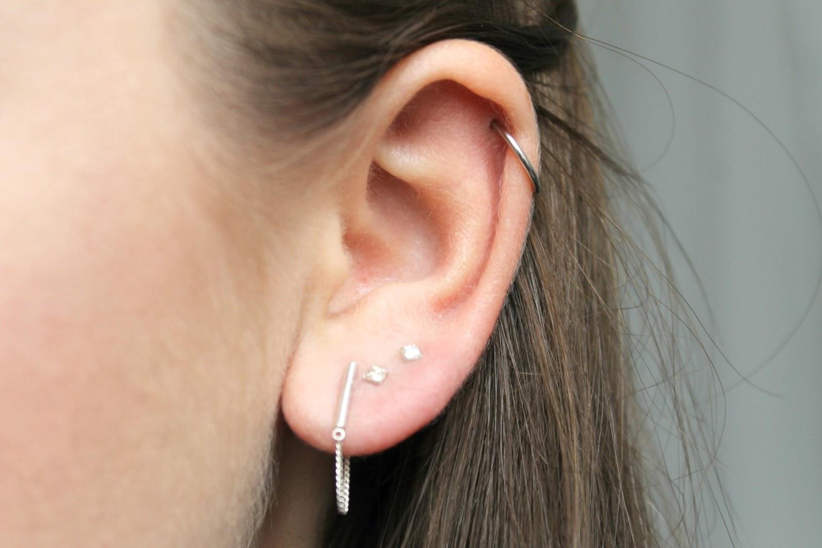 Helix en oorbellen