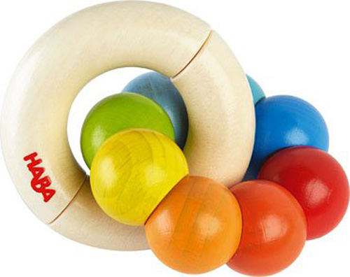 HABA 2173 Colourwheel Wooden Clutching Toys for Baby in Malaysia