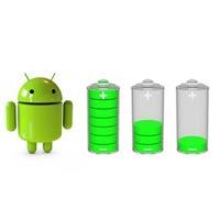 consumo de batería en Androids