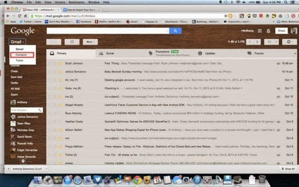 7 cach nhanh chong de nhap danh ba tu iphone sang gmail Chuyển hết danh bạ từ iphone sang gmail