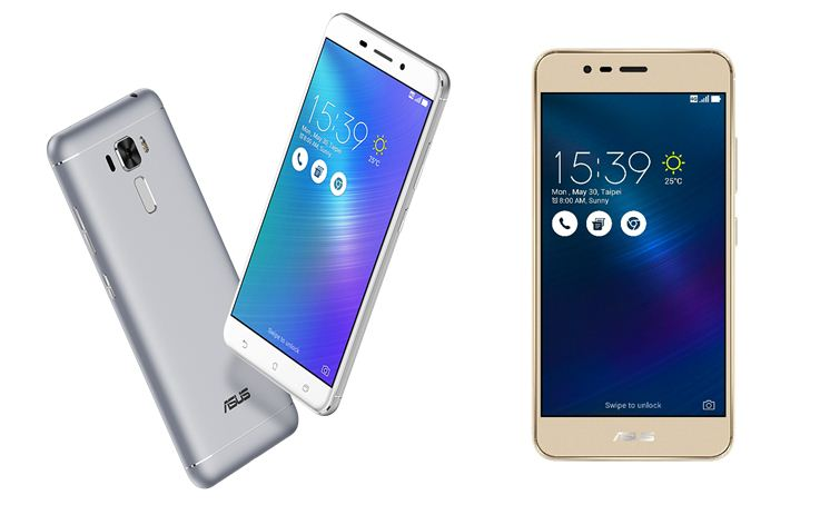 ASUS ZenFone 3 Laser And ZenFone 3 Max To Be Available In