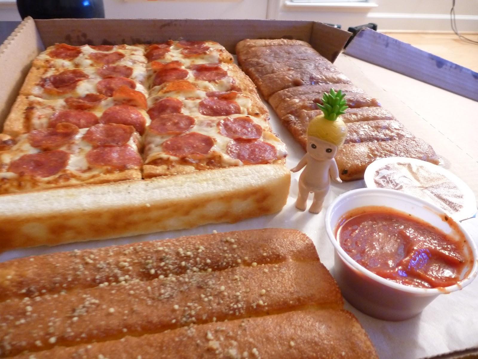 Mr. P & Fuchiko's Adventures: Pizza Hut Box