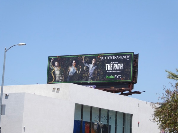 Path season 2 Emmy FYC billboard