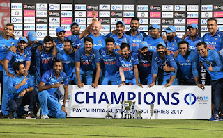 India won the ODI Series