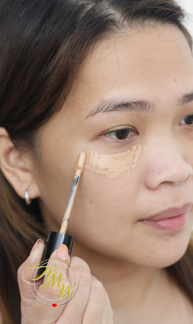 a photo of Flormar Perfect Coverage Liquid Concealer Review in Soft Beige