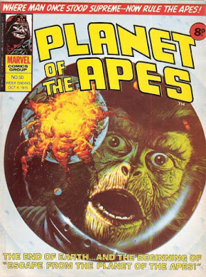 Marvel UK, Planet of the Apes #50, Escape From The Planet of the Apes