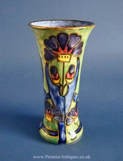 Bagley/sowerby/davidson Davidson ? A Vintage Art Deco Satin Glass Bowl Pottery, Porcelain & Glass