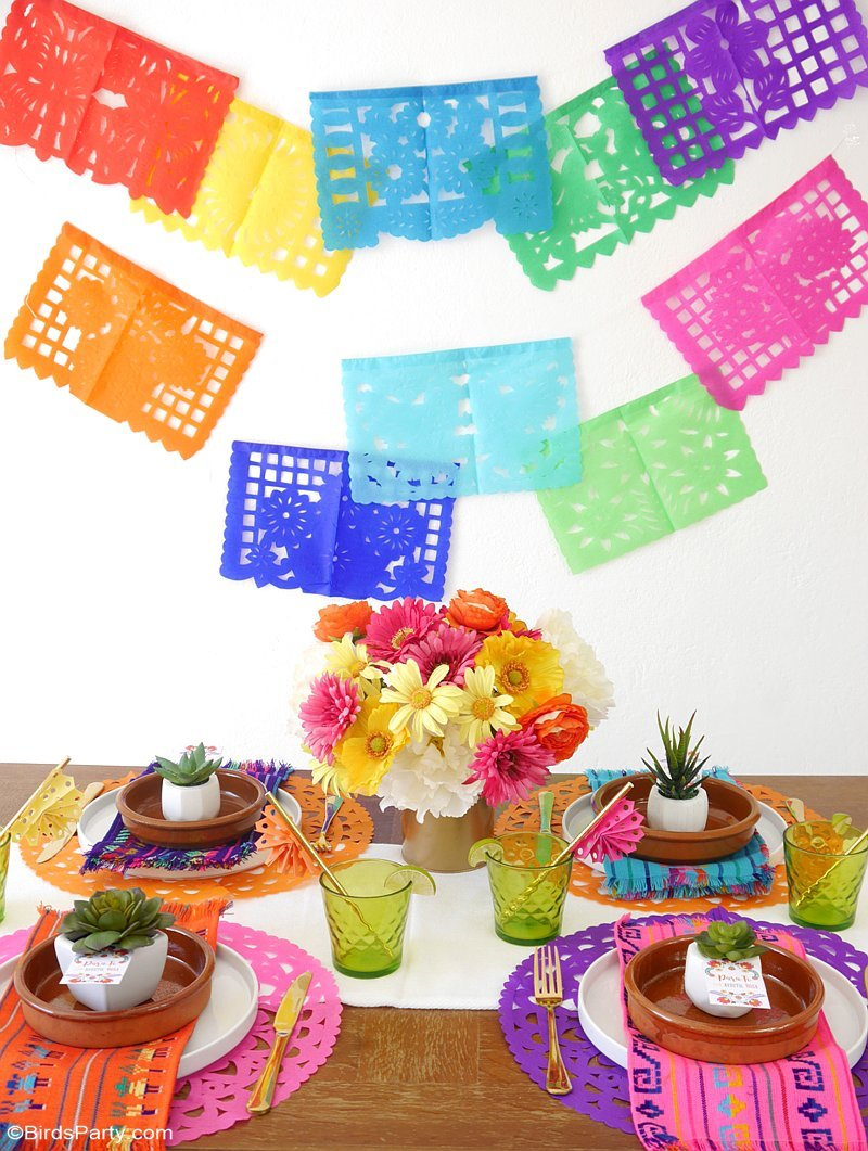 Mexican Party Ideas Decorations Elitflat