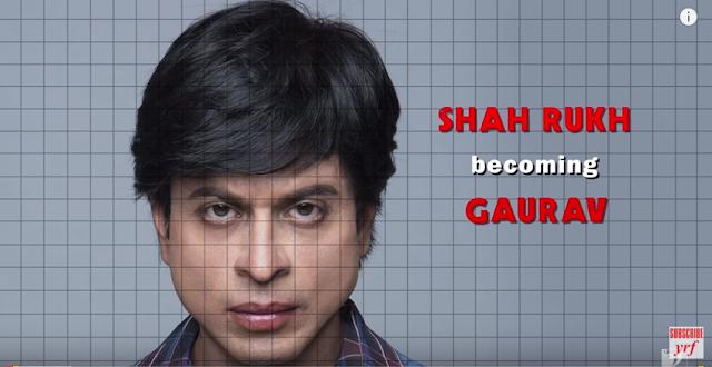 How Shah Rukh Khan became Gaurav in Fan