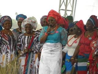 Aisha Buhari Leads Women And Youths On Solidarity Walk