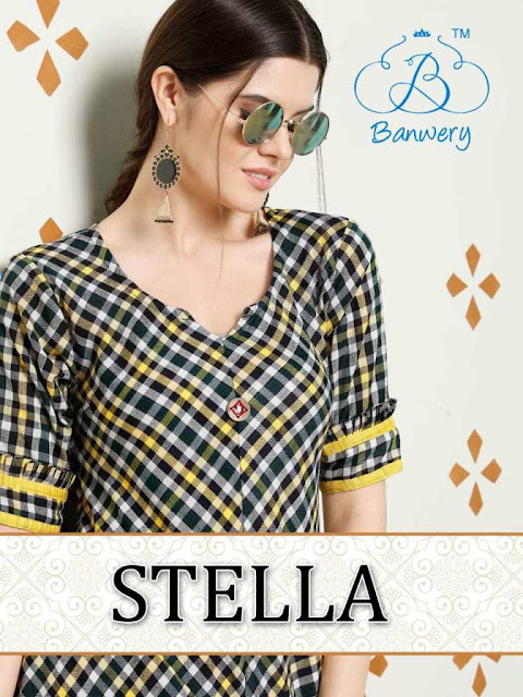 Banwery Stella party wear kurtis wholesaler