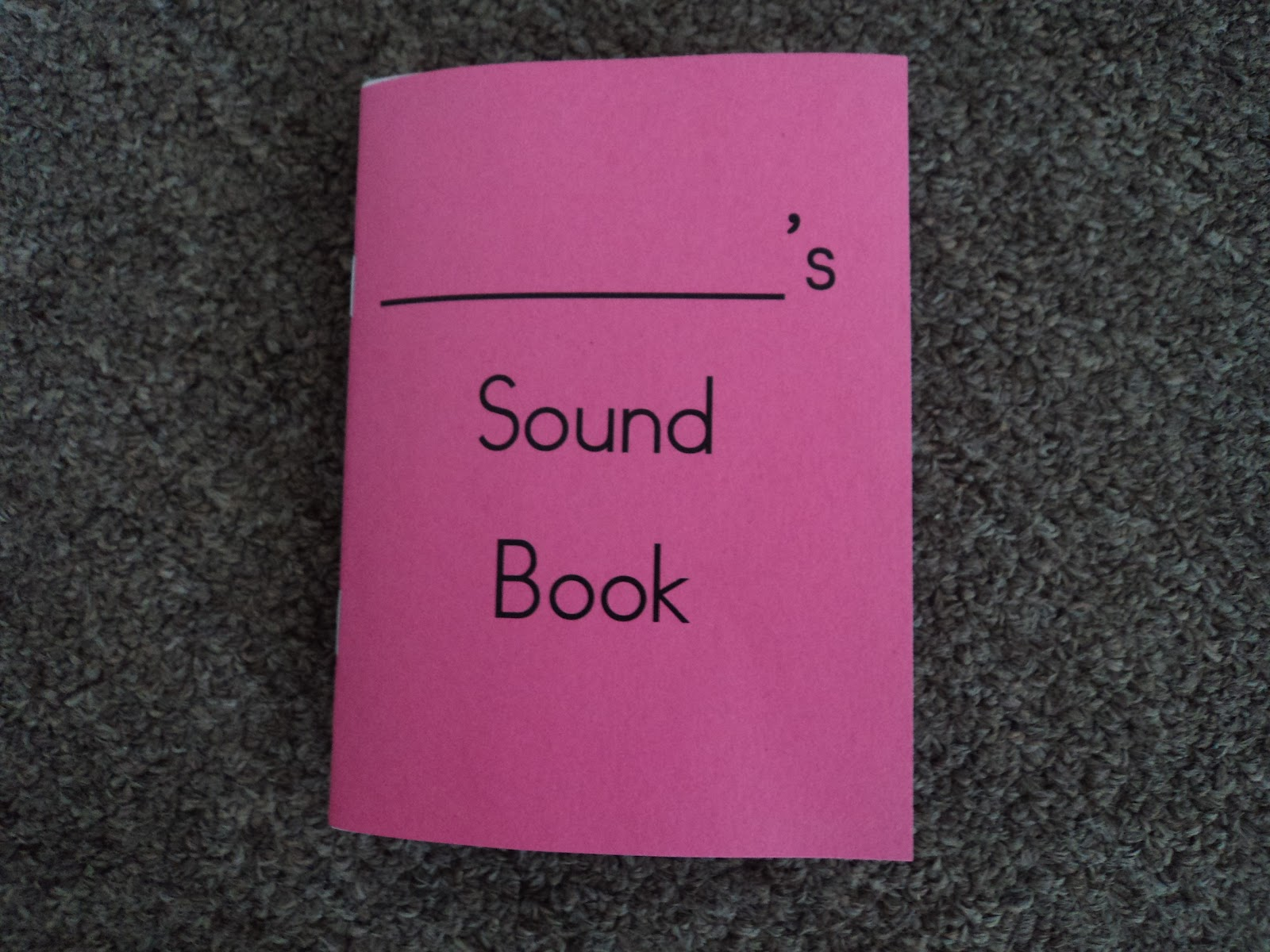 Crazy About Montessori Sound Books