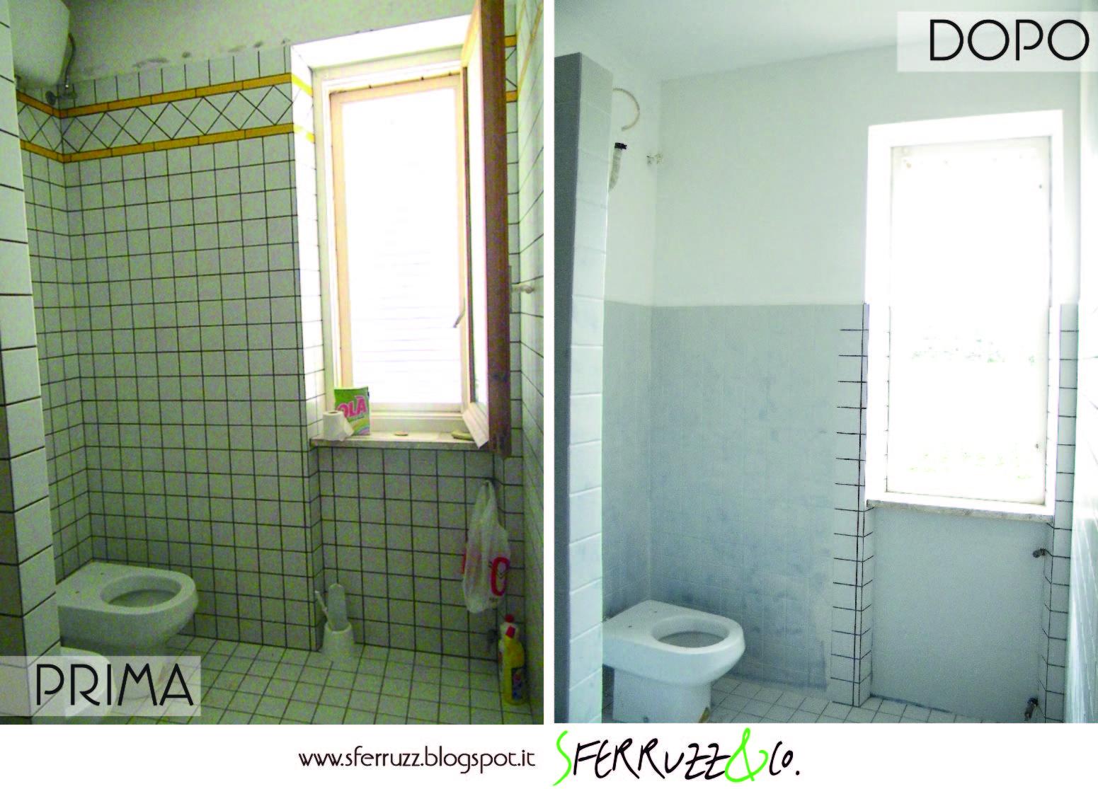 """Popolare Sferruzz&Co: T.G.House/""""Il Bagno Blu"""" makeover parte 1/Togliere le  TK96"""