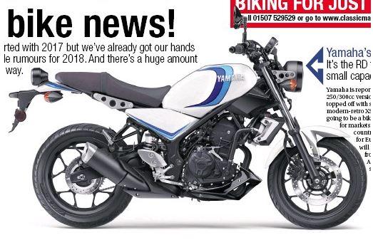 Yamaha XSR 250 masuk ke Indonesia