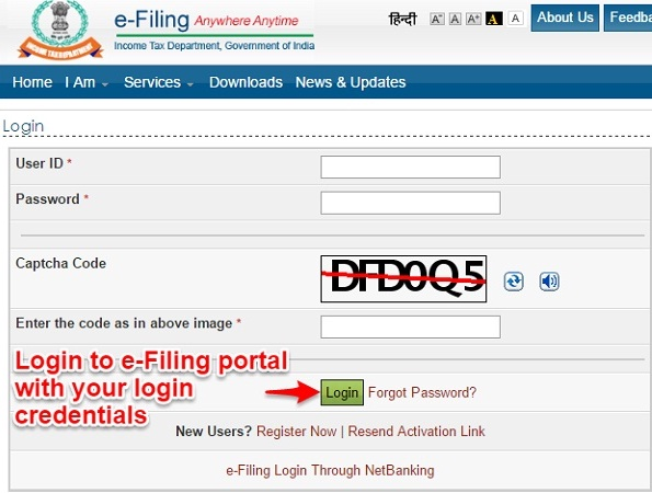 How To Link Aadhaar With Pan Through Online E Filling