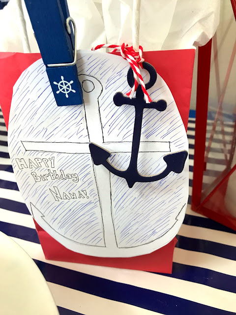 Anchor Themed Party