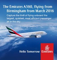The Emirates Airbus A380 is coming to Birmingham!