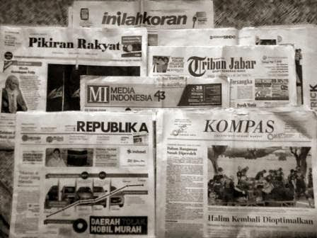 Bentuk dan Karakteristik Penerbitan Media Cetak, reka bentuk surat kabar, jurnal rozak