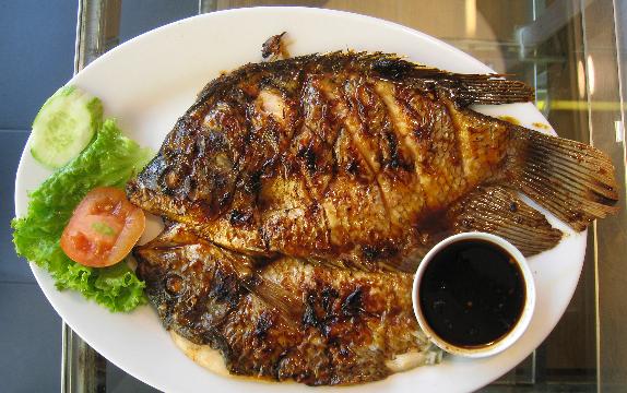 Resep Ikan Bakar Bumbu Oles Mentega ikan Bawal