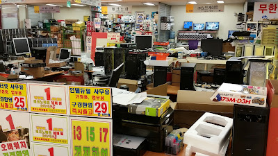 Visit to Techno Mart: Korea's Electronics Supermall