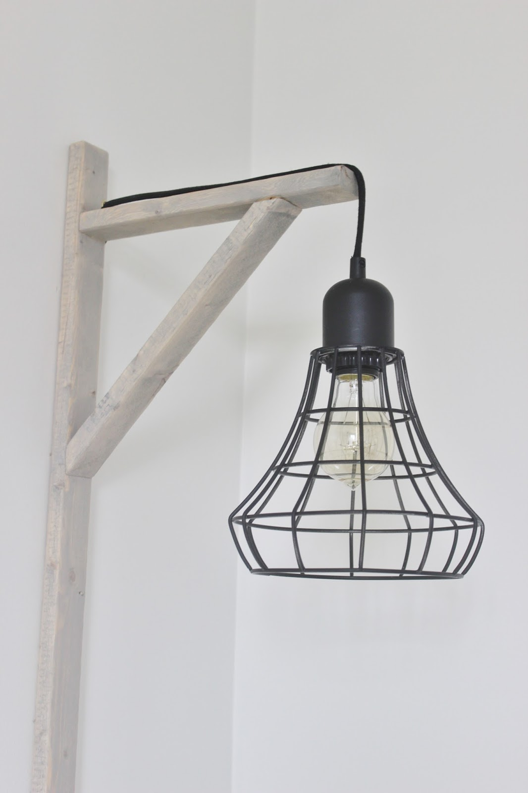 DIY rustic light