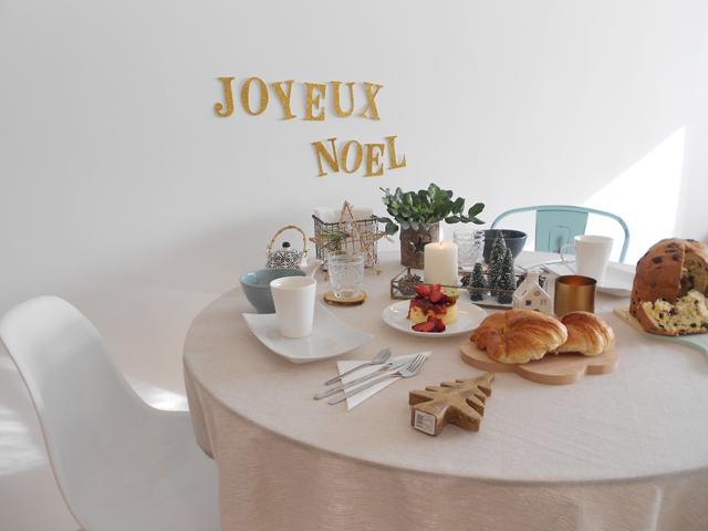 Hacer mesa Navidad