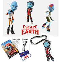 Escape from Planet Earth Prize Pack