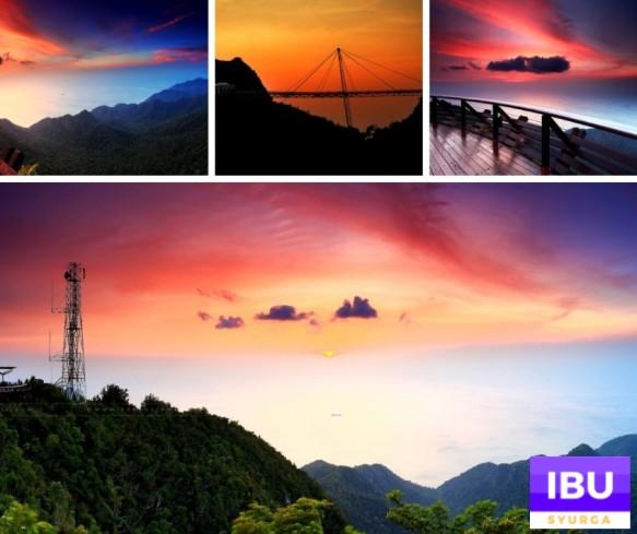skybridge Tempat menarik di langkawi malam