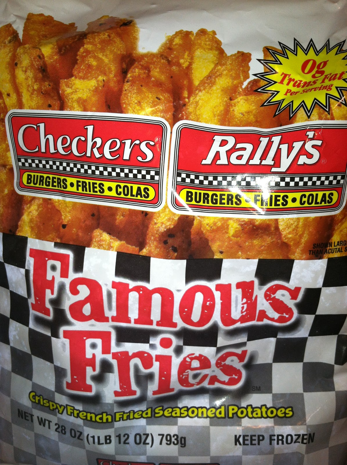 French Fry Diary French Fry Diary 362 Checkers Rally S